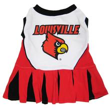 University of Louisville Cardinals Cheerleader Dog Dress