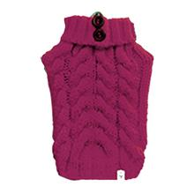 Urban Knit Dog Sweater - Fucshia