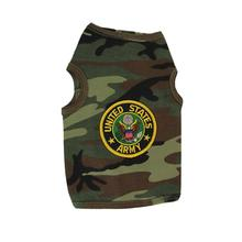 U.S. Army Crest Dog Tank Top - Camo