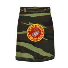 U.S. Marine Corps Crest Dog Tank Top - Camo