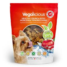 Vegalicious Crunch Bites Dog Treat - Appleberry Burst