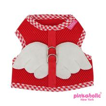 Venus Pinka Dog Harness by Pinkaholic - Red