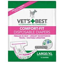 Vet's Best Disposable Dog Diapers