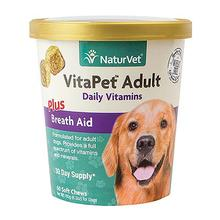 VitaPet Adult Daily Vitamins Soft Chews for Dogs by NaturVet