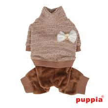Wafer Dog Jumpsuit by Puppia - Beige