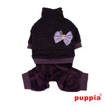 Wafer Dog Jumpsuit by Puppia - Purple