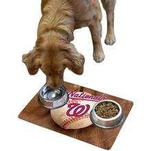Washington Nationals Pet Bowl Mat