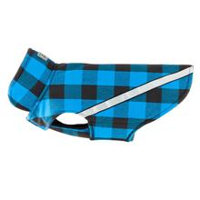 West Coast Dog Rainwear - Blue Buffalo Plaid