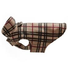 Whistler Winter Dog Coat - Tan Tartan