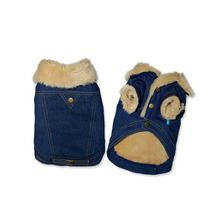 Winter Chic Denim Dog Jacket by Dogo