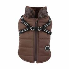 Winter Storm Dog Vest by Puppia - Brown