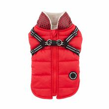 Winter Storm Dog Vest by Puppia - Red