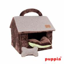 Witta Dog House by Puppia - Brown