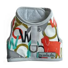 Woof Print Dog Vest Harness