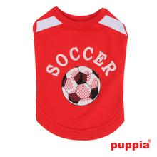 Worldpup Dog Shirt by Puppia - Red