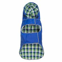 Worthy Dog Seattle Slicker Dog Raincoat - Blue