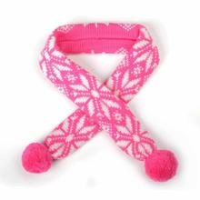 Worthy Dog Ski Lodge Dog Scarf - Fuchsia