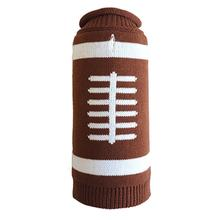 Worthy Dog Touchdown Dog Sweater - Brown