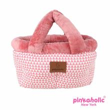 Xena Bed Dog Car Seat by Pinkaholic - Pink