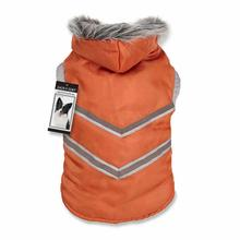 Zack and Zoey Arctic Reflective Dog Coat - Orange