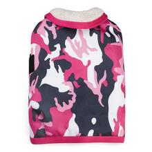 Camo Tough Barn Dog Coat - Pink