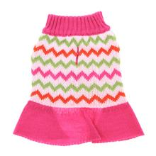 Zack and Zoey Elements Chevron Dog Sweater Dress