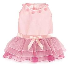 Zack and Zoey Elements Snow Princess Dog Dress - Pink
