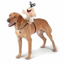 Zack and Zoey Giggling Baby Saddle Harness Dog Costume