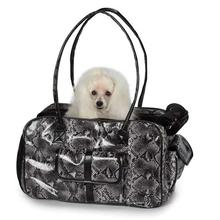 Zack & Zoey Metallic Python Pet Carrier