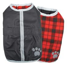 Zack and Zoey Nor'easter Dog Blanket Coat - Black