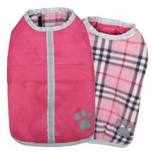 Zack and Zoey Nor'easter Dog Blanket Coat - Pink