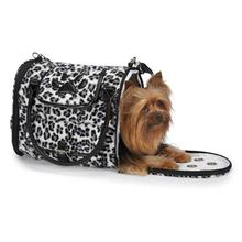 Zack & Zoey Snow Leopard Pet Carrier