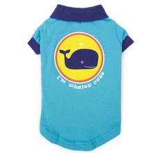 Zack and Zoey SPF40 Whaley Tales Dog Polo Shirt