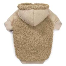 Zack and Zoey Teddy Bear Fleece Dog Hoodie