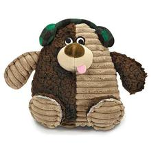 Zanies Blizzard Bear Dog Toy - Earmuff
