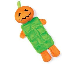 Zanies Halloween Squeaktacular Dog Toy - Pumpkin