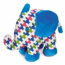 Zanies Heightened Brights Animal Dog Toy - Elephant
