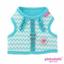 Ziggy Dog Harness by Pinkaholic - Aqua