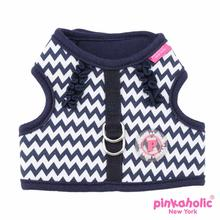 Ziggy Dog Harness by Pinkaholic - Navy