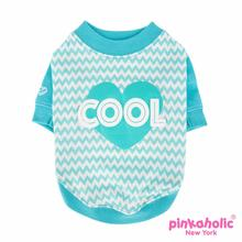 Ziggy Dog Shirt by Pinkaholic - Aqua