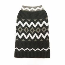 Zigzag Dog Sweater by Dogo - Black