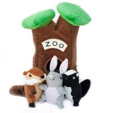 ZippyPaws Burrow Dog Toy - Zoo