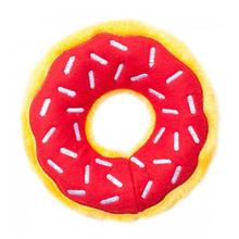 ZippyPaws Donutz Dog Toy - Cherry