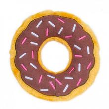 ZippyPaws Donutz Dog Toy - Chocolate