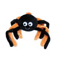ZippyPaws Halloween Grunterz Dog Toy - Orange Spider