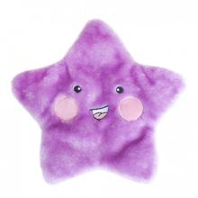 ZippyPaws Squeakie Flattiez Dog Toy - Stella the Starfish