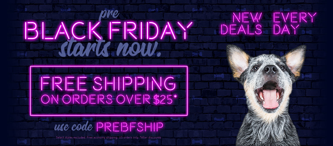Pre-Black Friday Deals & Free Shipping Every Day!