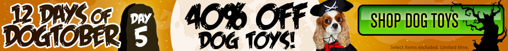40% Off Dog Toys!