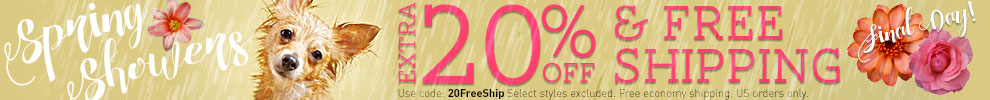 Extra 20% Off & Free Shipping