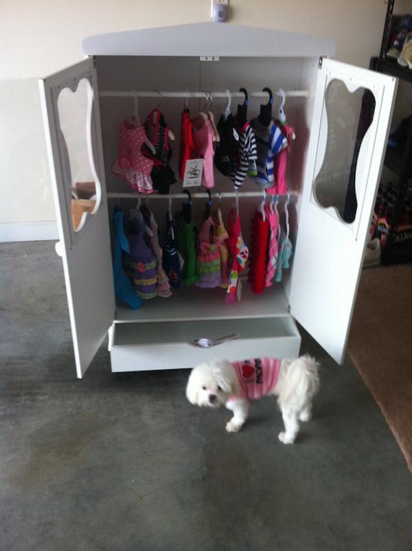 Bon Armoire Dog Closet Baxterboo